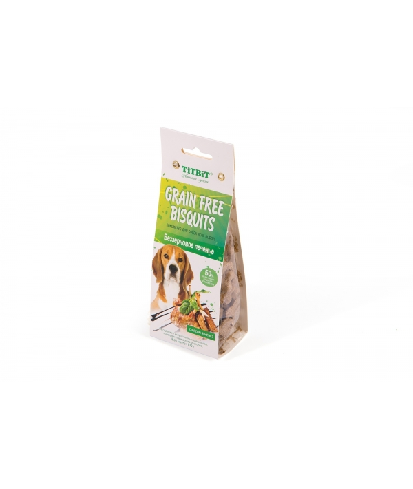 Печенье Grain Free беззерновое с мясом ягненка (6511)