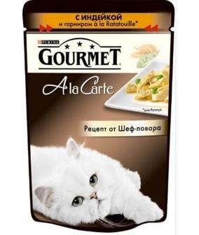 Паучи в подливе для кошек с индейкой и гарниром (Alcte) 12242389/12318158