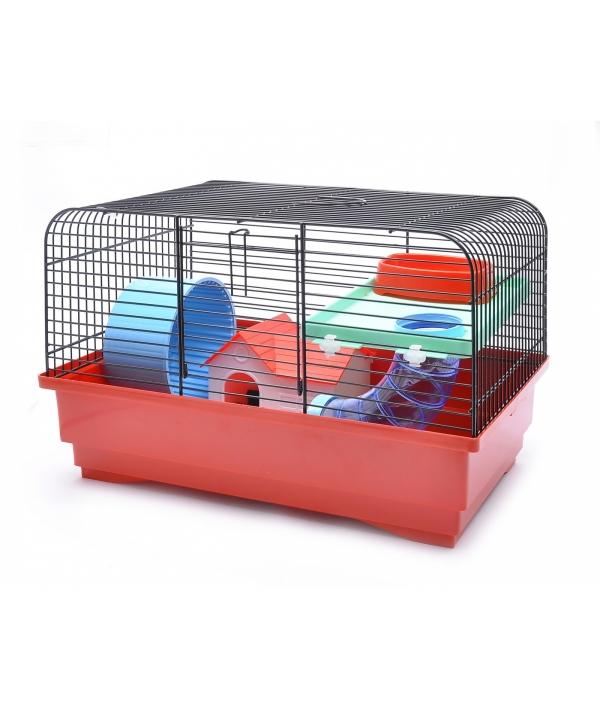 """Клетка для хомяков """"Мария"""" 40 * 22,5 * 26,5 см (Cage for hamsters maria funny) 35101"""