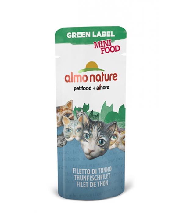 "Лакомство для кошек ""Филе Тунца"", 99% мяса (Green Label Mini Food Tuna Fillet) 502"