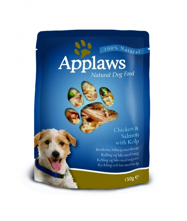 Паучи для Собак с Курицей, Лососем и овощным ассорти (Dog Chicken & Salmon – Veg Pouch) 9003CE – A