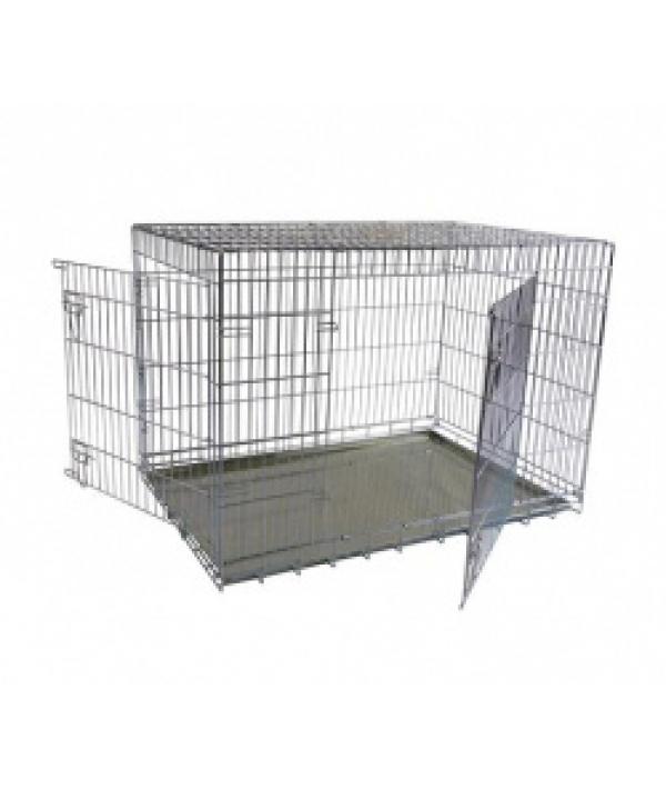 Клетка металлическая с 2 дверками, 107*68*75см (Wire cage 2 doors) 150207