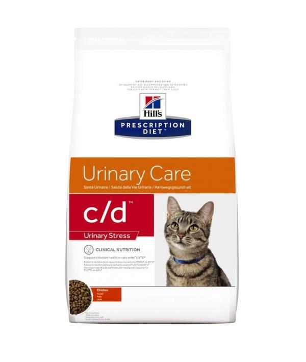 C/d для кошек – профилактика МКБ при стрессе (Urinary Stress)