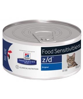 Консервы Z/D для кошек – Лечениe острых пищевых аллергий 5661F