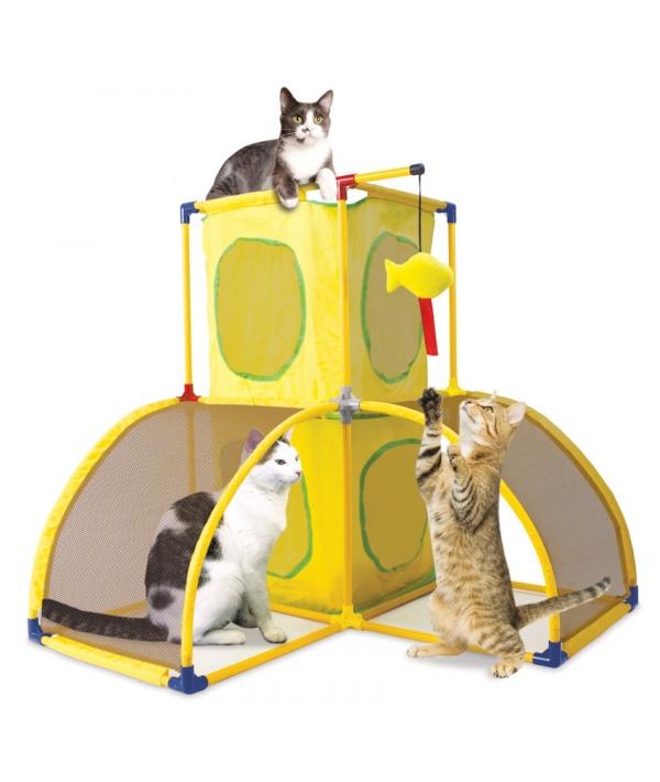 """Игровой комплекс для кошек: Версаль. """"Kitty Play Palace"""": 70*70*70см (sp0364)"""