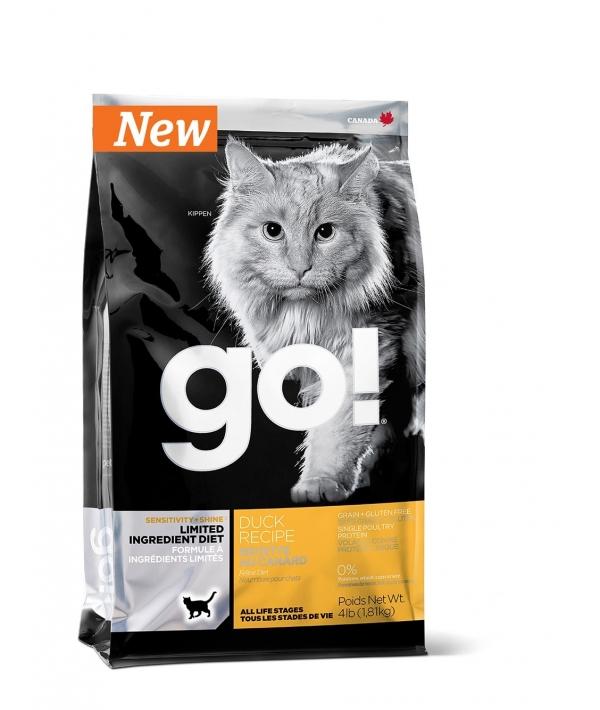 Беззерновой для котят и кошек с чувств. пищеварением со свежей уткой (Sensitivity + Shine Grain Free Duck Cat Recipe )31 – 15