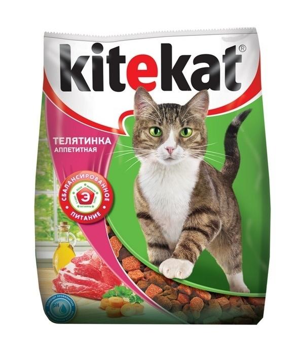 Сухой корм для кошек с аппетитной телятиной 10132147