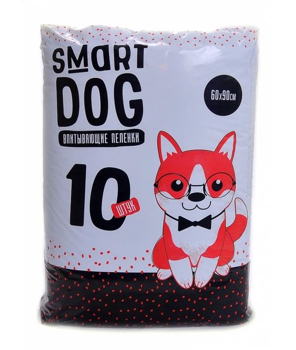 Впитывающие пеленки для собак 60*90, 10 шт