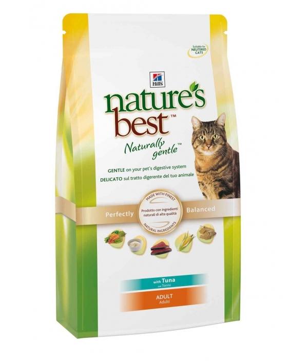 Nature's Best для кошек с тунцом, рисом и овощами (Adult Tuna) 4199DR