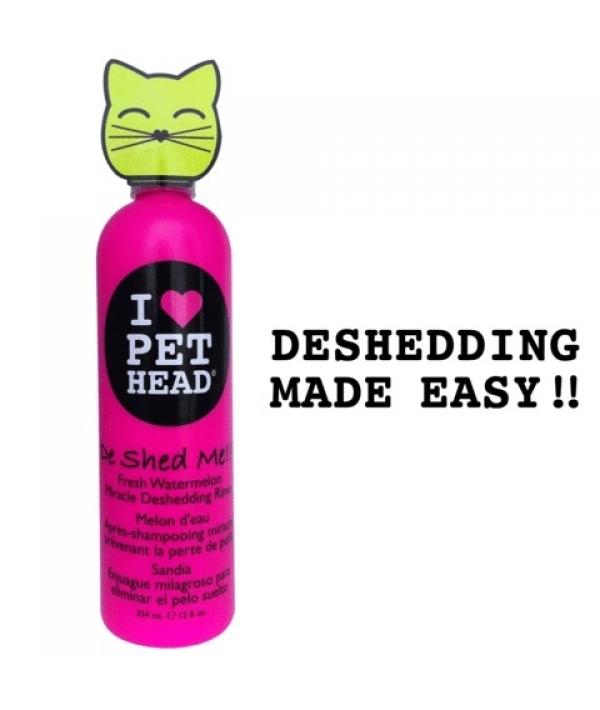 """Кондиционер Арбузный """"Чудо – Линька"""" для линяющих Кошек с кокосовым маслом, без сульфатов и парабенов (DE SHED ME for Cats) PH10231"""