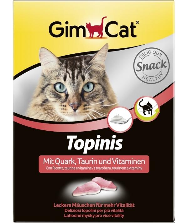 """Витамины для кошек """"Мышки"""" с творогом и таурином, 70шт, 409719"""