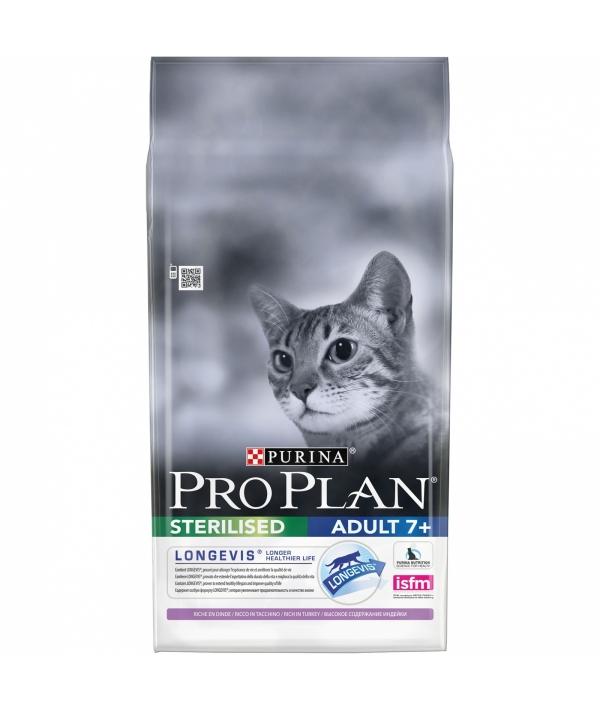 Для пожилых кастрированных котов и стерилизованных кошек с индейкой (Sterilized 7+) 12263290