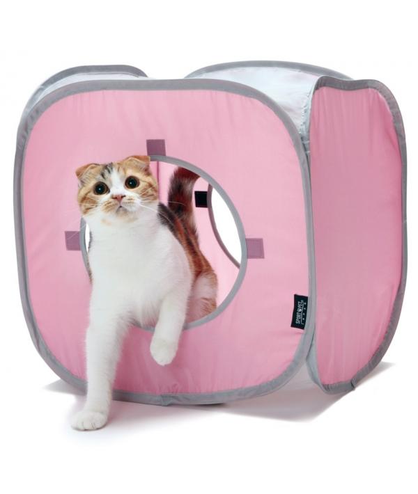"Домик для кошек Кубик Рубик. ""Kitty Play Cube"": 38*38*38см (pl0057)"