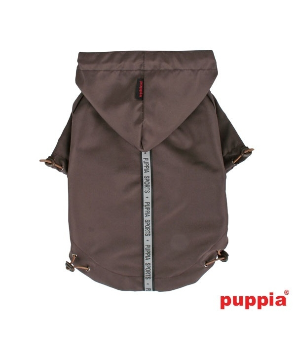 Базовый плащ со светоотражающими лентами, коричневый, размер XL (длина 35 см) (BASE JUMPER/BROWN/XL) PEAF – RM03 – BR – XL