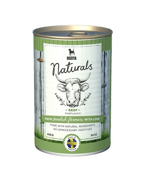 Naturals консервы для собак с говядиной