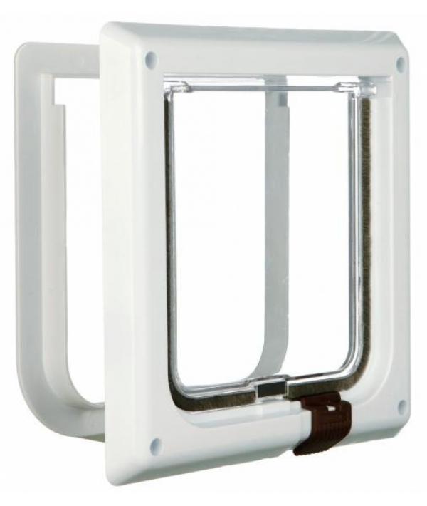 Дверца для кошки (15,8х14,7см) белая 38601