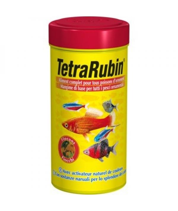 Корм для рыб д/усиления насыщенности окраса, хлопья TetraRubin Flocken 250ml 767362
