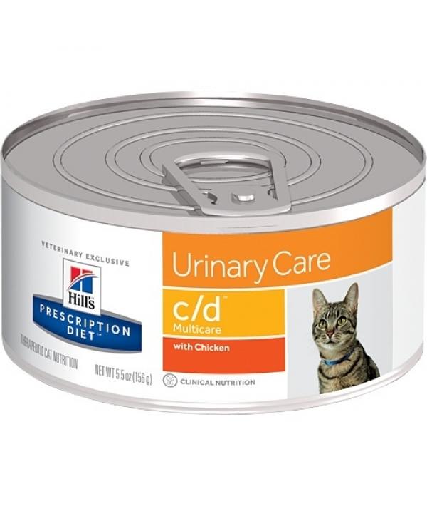 Консервы C/D для кошек – Профилак. мочекаменной болезни 9451F
