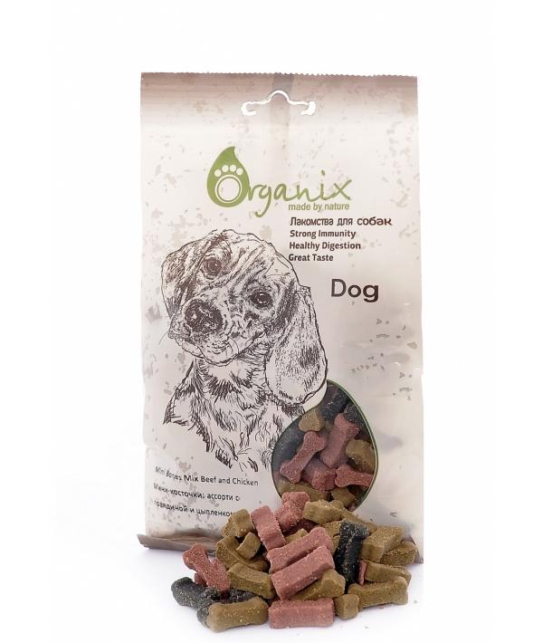 Лакомства для собак Мини – косточки: ассорти с говядиной и цыпленком. (Mini Bones Mix Beef and Chicken) D8005