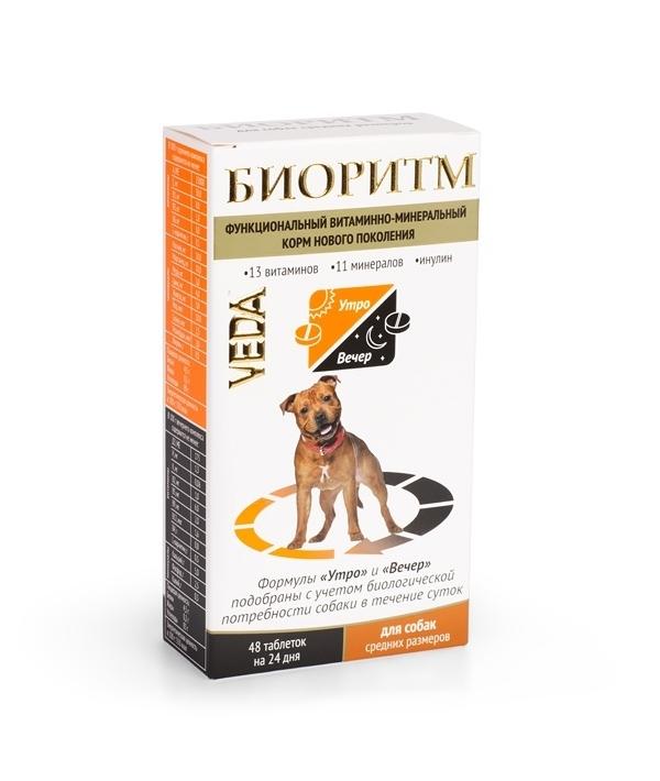Биоритм Витамины для собак средних пород