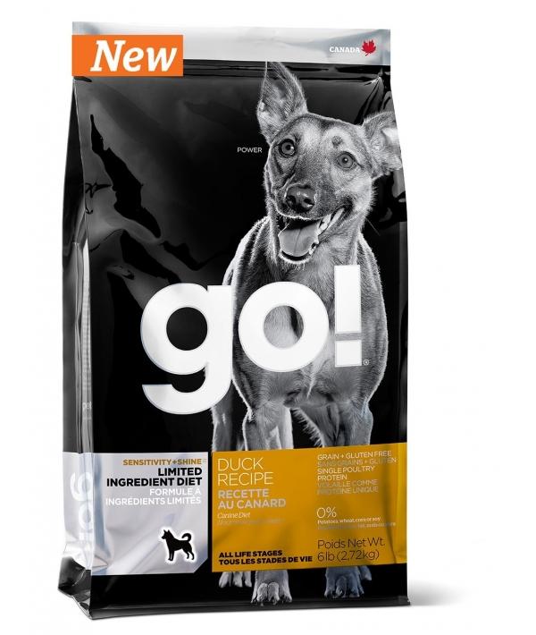 Беззерновой для щенков и собак со свежей уткой для чувст. пищеварения (Sensitivity + Shine LID Duck Dog Recipe, Grain Free, Potato Free) 24 – 12