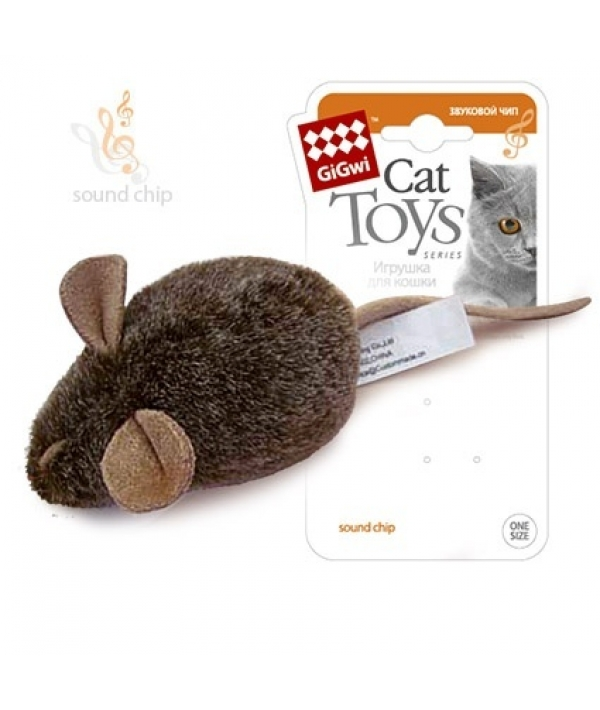 Игрушка для кошек Мышка с музыкальным механизмом (75101)50176