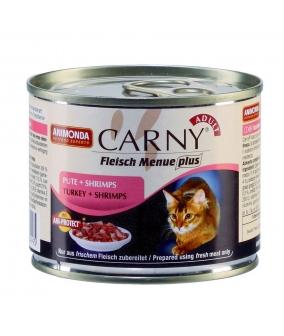 Консервы для кошек с говядиной индейкой и креветками (Carny Adult) 83499