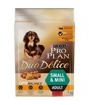 Для собак мелких пород с говядиной и рисом (DUO DELICE) 12251945/ 12340479
