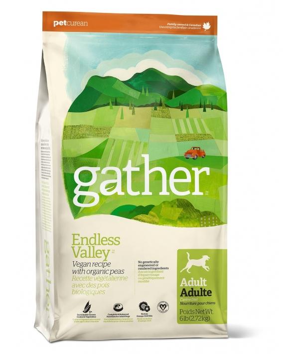 Органический веганкорм для собак (GATHER Endless Valley Vegan DF) 4301216