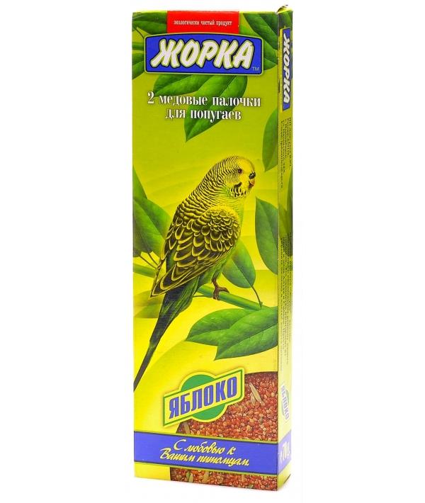 2шт. Палочки для попугаев с Яблоками