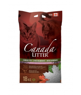 "Канадский комкующийся наполнитель ""Запах на Замке"", аромат лаванды (Scoopable Litter)"