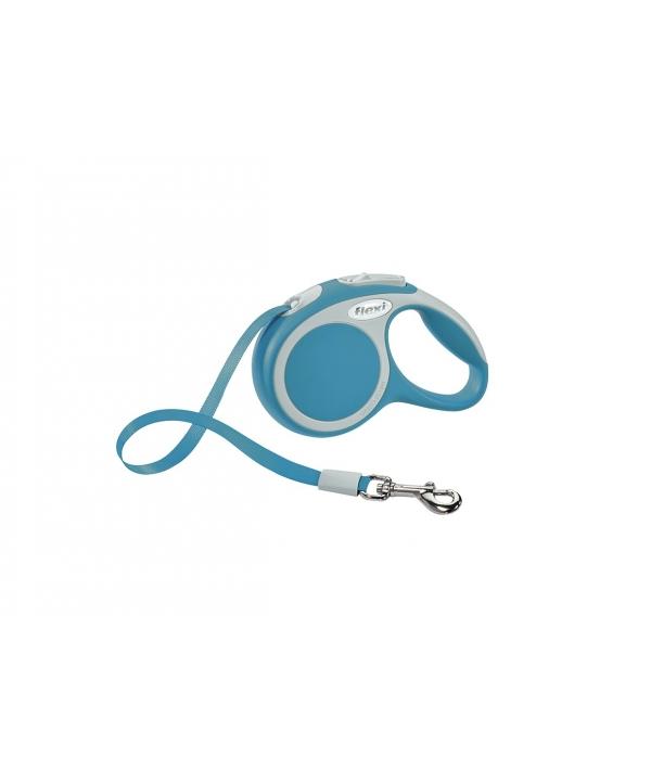 Рулетка – ремень для собак до 12кг, 3м, бирюзовая (Vario XS tape 3m turquoise)