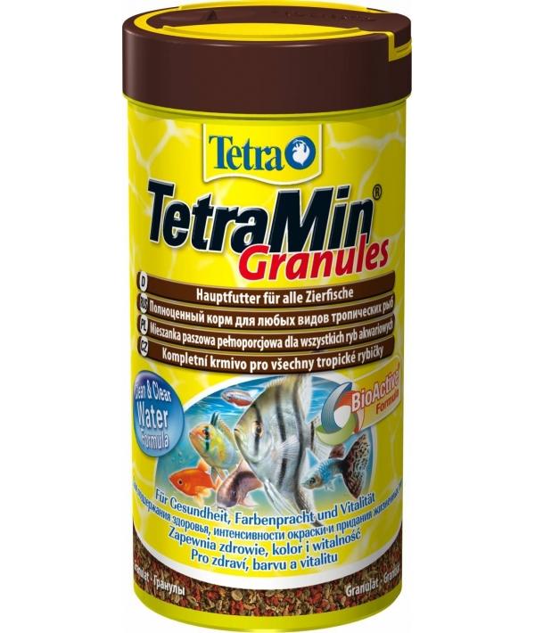 Корм для всех видов тропических рыб, гранулы TetraMin Granulat 250ml 139749