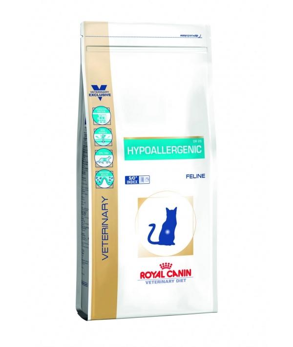 Для кошек с пищев.непереносимостью (Hypoallergenic DR25) 722005/ 722105