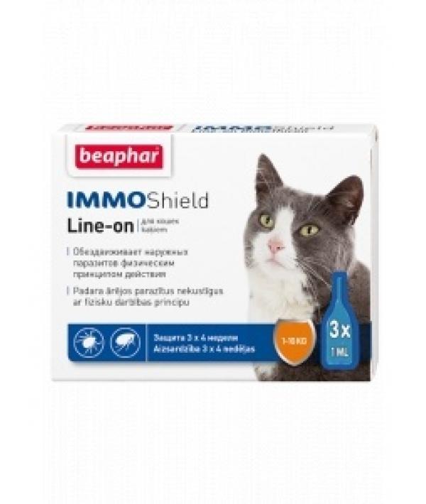 Капли от блох для кошек Vermicon,3 пипетки (Vermicon) 10984