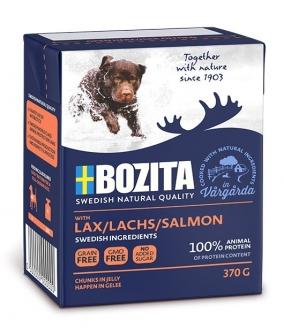 Naturals кусочки в желе для собак с лососем