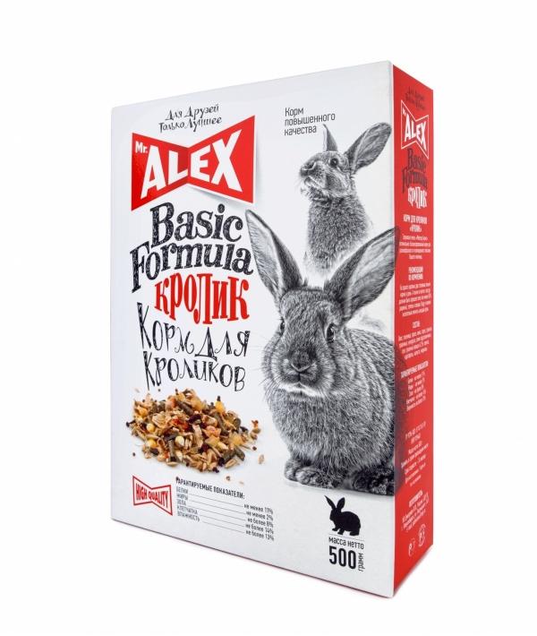 """Корм для кроликов """"Кролик"""" Basic"""