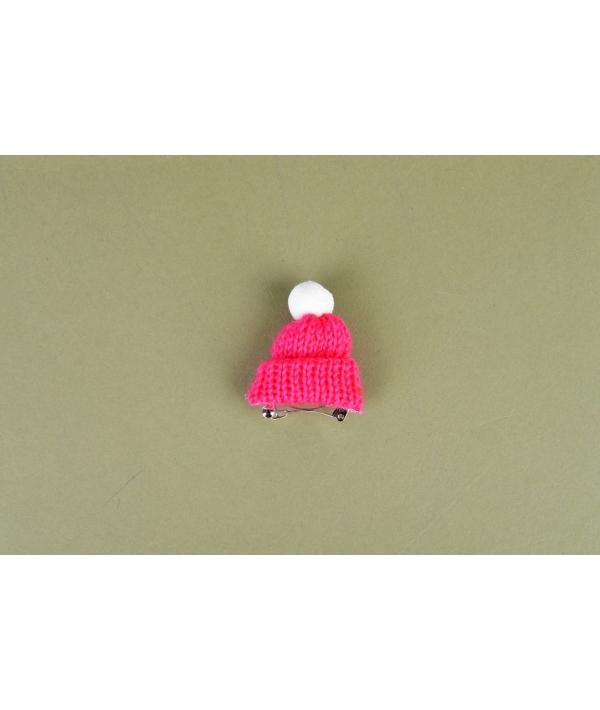 Заколка для собак в форме шапочки, розовая (VIVI NARD – 7380) NARD – HP7379 – PK – FR
