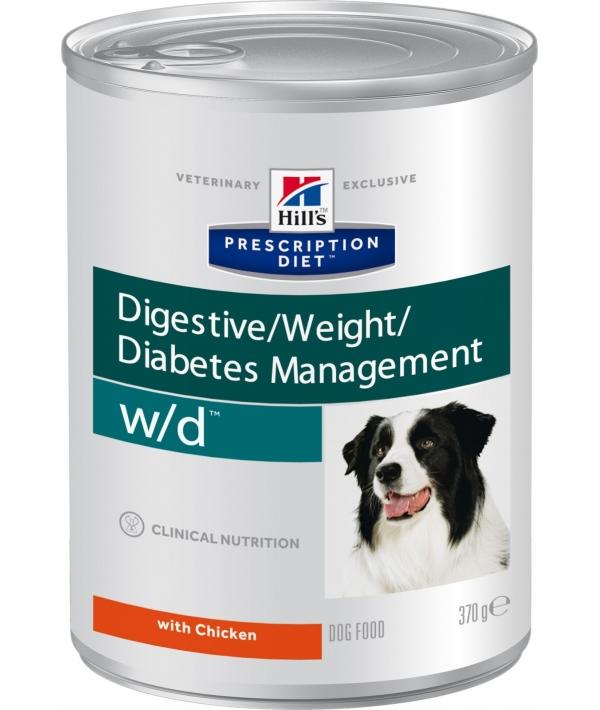 Консервы W/D для Собак – Лечение сахарного диабета, запоров, колитов (Low Fat/Diabet) 8017U