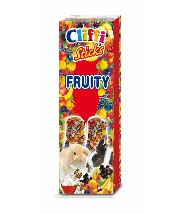 Лакомство для Кроликов: палочки с фруктами и медом (Sticks rabbits with fruit and honey) PCRA214