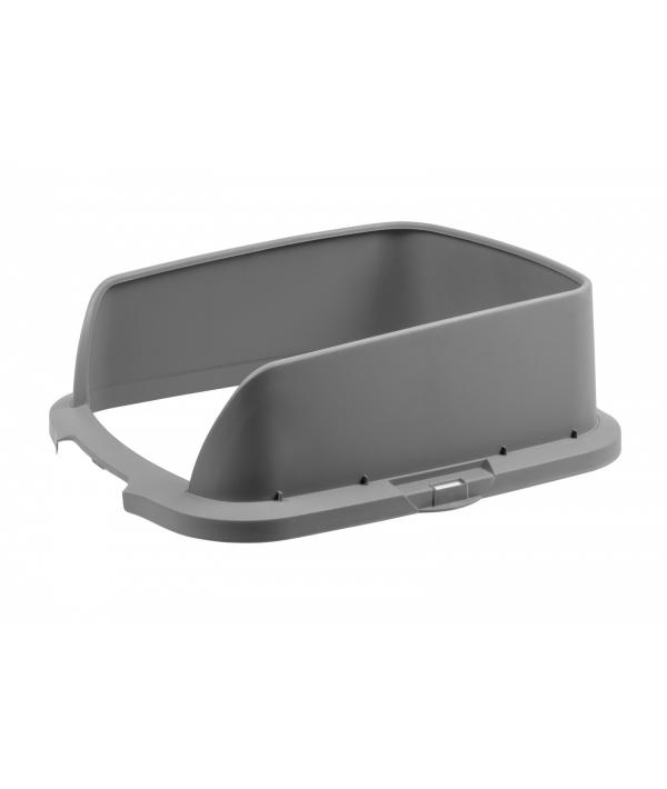 Высокие бортики для туалета Cateco серые (CATECO® Extension Grey)