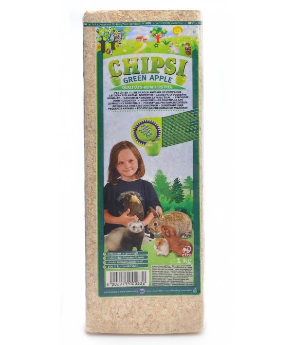 Опилки с Зеленым Яблоком (Chipsi) – 12112