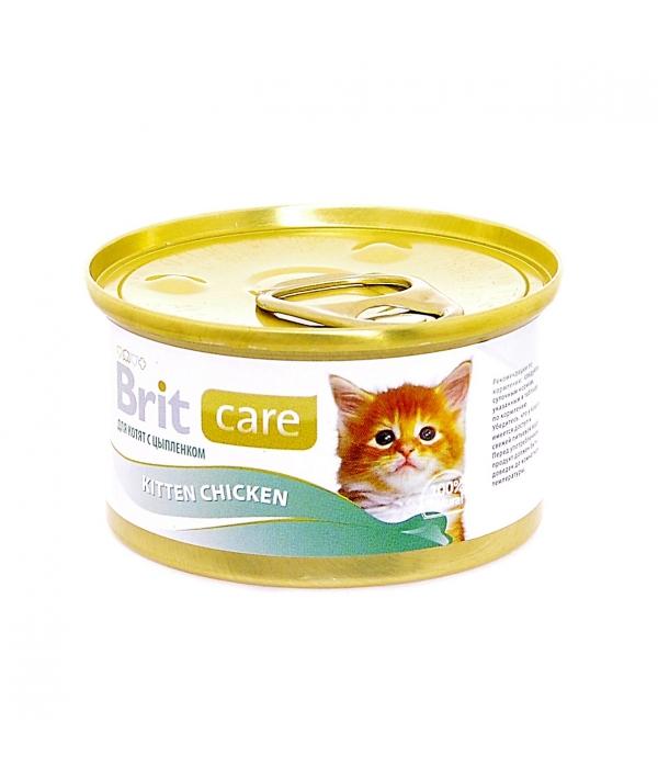 Консервы для котят с курицей (Kitten Chicken) 100061