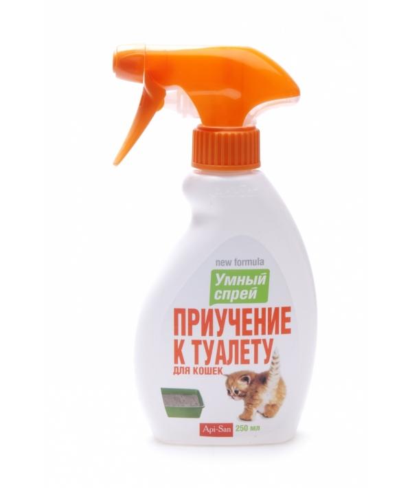 25301 Умный Спрей приучение к туалету для кошек