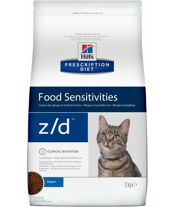 Z/d для кошек лечение острых пищевых аллергией 4565M