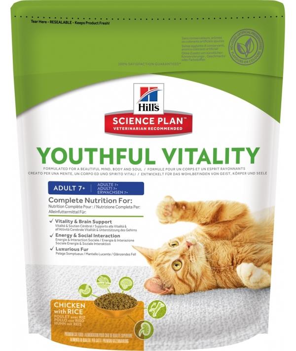 Для пожилых кошек с курицей (Youthful Vitalitytm) 10993U