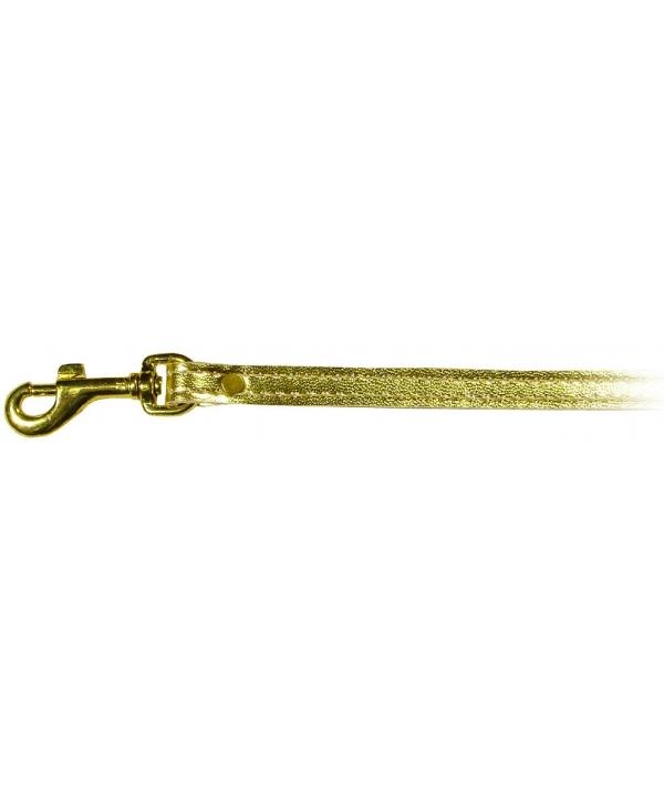 Lux – Поводок Золотистый, иск.кожа, 1,2м*1,2см (520412)