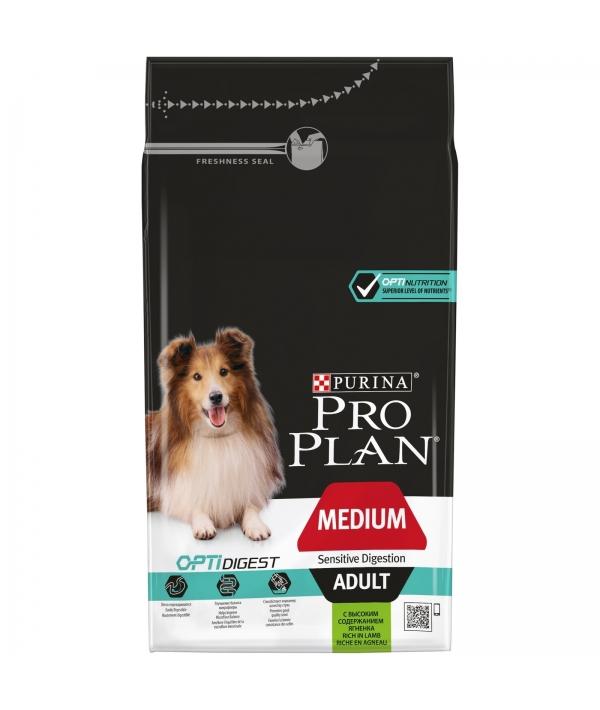 Для взрослых собак с чувствительным пищеварением с ягненком (Adult Digestion) 12365632