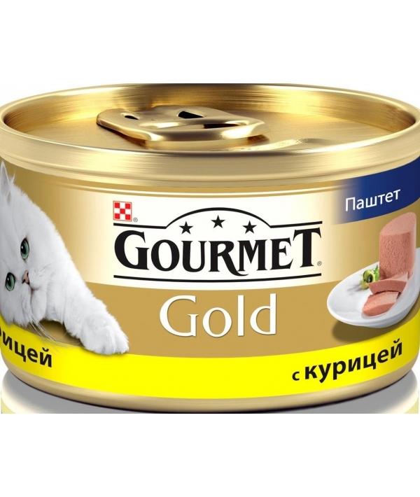 Паштет Gourmet Gold с курицей для кошек – 12032582/12318119/12307070