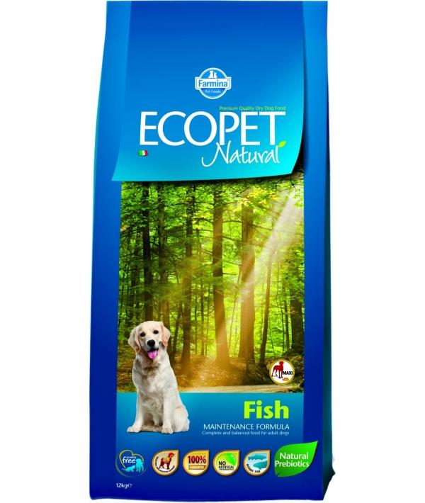 Ecopet Сухой корм для собак с рыбой 9014